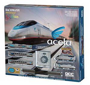 N Spectrum Acela Set w/DCC, Amtrak