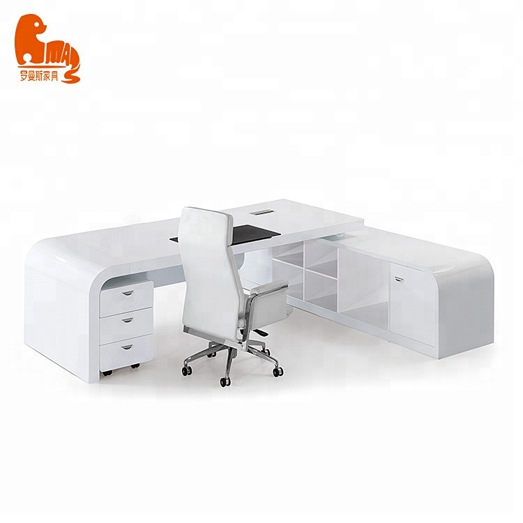 Branco Ecológico Moderno Em Forma De L Secretária Cozimento Da Pintura Mobiliário De Escritório Mesa Buy Em Forma De L Secretária Mesa De Escritório Mesa De Escritório Móveis Product On Alibaba Com