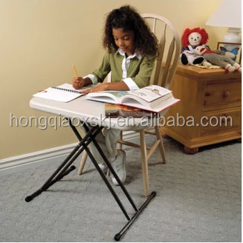 Superbe 30 Inch Adjustable Height Folding Study Table For Kids, Lightweight Small  Plastic Folding Tables For