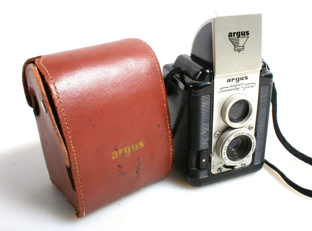 Art Deco 8mm Argus Movie Camera with Manual Photography Craft ...