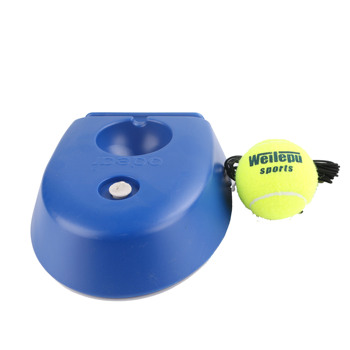 Factory Patent Wholesale Tennis Ball Trainer Base Stringing Throwing Training Machine for Sale