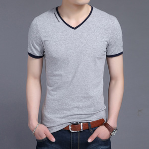 Wholesale Custom Two Color T-shirt for Men