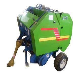 farm wheat straw hay and straw baler machine