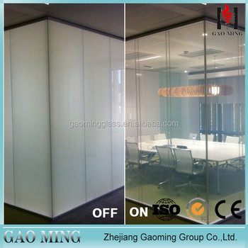 Window Switchaable Glass Films Type And Frosted Opaque Surface