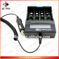 High quality Efan Unique X4 LCD display universal Battery Charger For Li-ion/IMR/LiFePO4/Ni-MH/Ni-Cd/AA/aaa/a battery