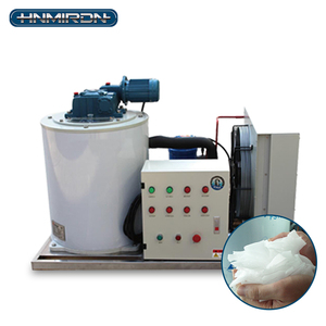 Crystal clear ice 1200kg/24h ice output making machine compressor
