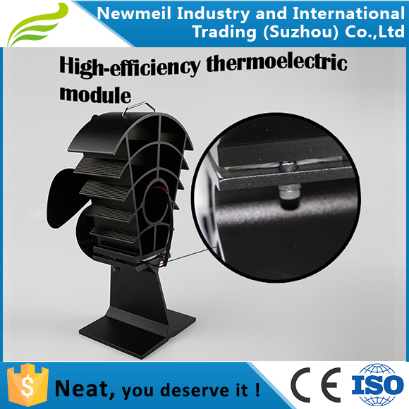 Newmeil Big 18cm Blade High Air Flow Heat Activated Wood