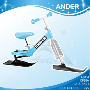 Ander Metal Winter Toy Snow Sledge Ski Scooter With CE EN71