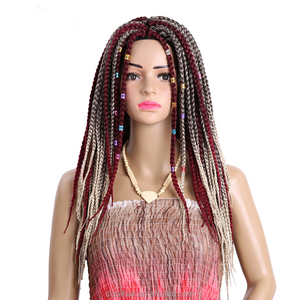 Synthetic 3X havana mambo twist braid 24 inch long crochet box braids twist hair braiding