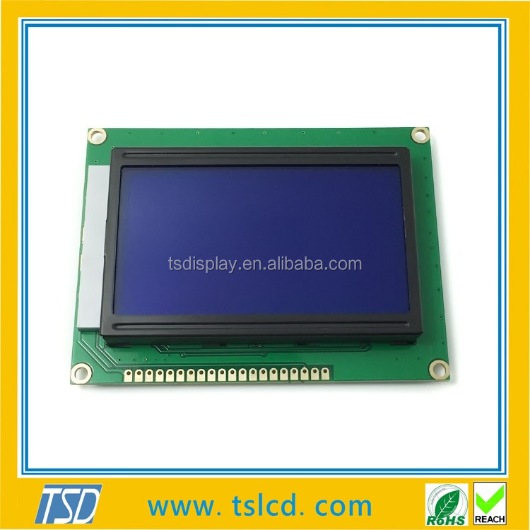 Dots 128x64 lcd, 3.3 V led backlight módulo lcd STN