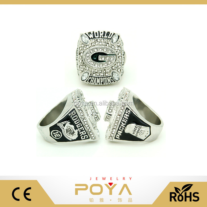 POYA Jewelry Wholesale Replica NFL Championship Ring, 2012 Super Bowl Championship Ring, Rose Bowl Championship Rings