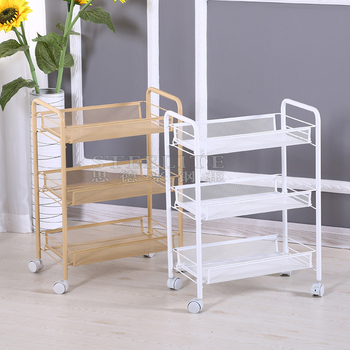 3 Tier Metal Mesh Rolling Cart Slim Metal Mesh Storage Cart Kitchen Laundry  Bathroom Organizer