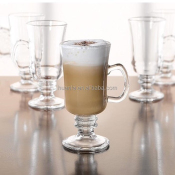 Irish Coffeeespresso And Tea Mugsdrinking Glasses Cup Beverages Cup With Glass Handles Buy Irish Coffee Mugespresso Tea Mugsdrinking Glassware