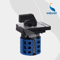 Saip / Saipwell high quality manufacture small automatic transfer switch for generator (LW26-20Ammeter)