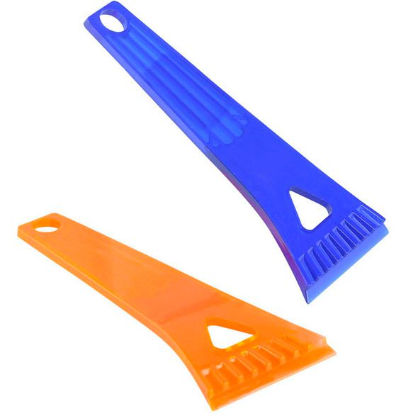 Plastic Ice scraper colour can be chosen