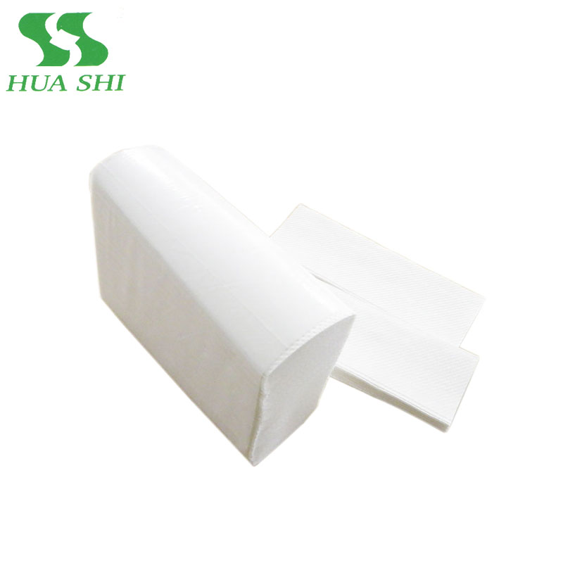 China wc tissue wegwerp hand papier handdoek 1 ply perfect voor hotel