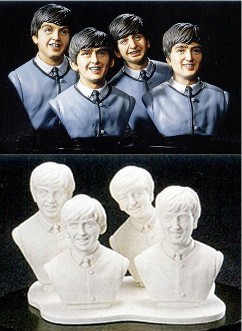 ' THE BEATLES ' Bust 1/6 Scale Resin Kit