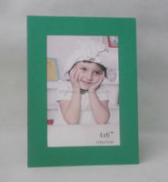 Cheapest green cardstock picture frame for wholesale 4x6