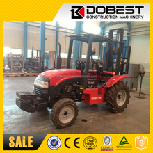 Good Quality 1.5 Ton Small Forklift YTO 4 x4 Rough Terrain Forklift TC4015