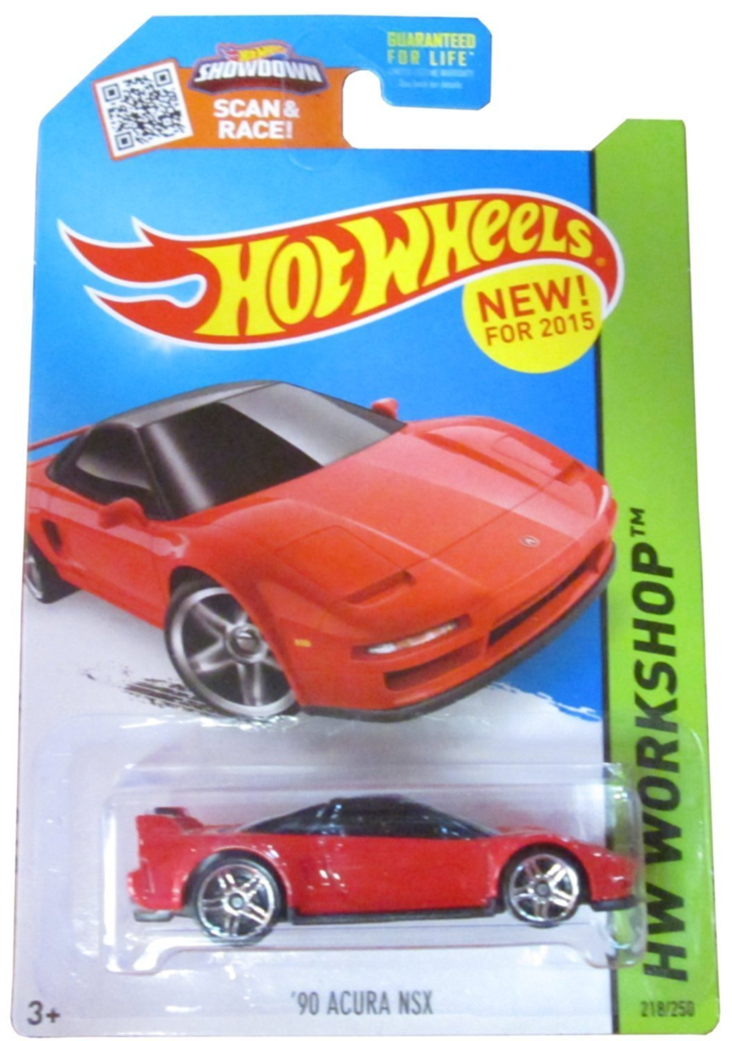 Get Quotations · Hot Wheels HW Workshop 218/250 Red '90 Acura NSX