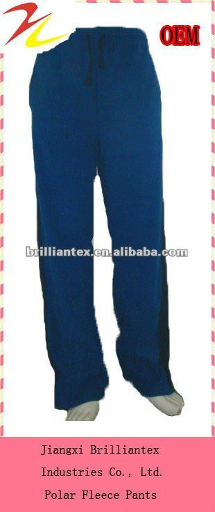 2012 latest fashionable knitted polar fleece trousers pants designs for boy