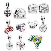 gincco jewelry factory wholesale price charms fit pandora charms bracelet