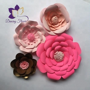 small petals artifical decoration paper flowers