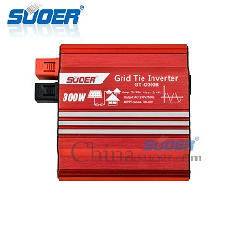 Suoer Inverter 24v 220v On Grid 1000w photovoltaic Inverter Prices Grid Tie Solar Inverter