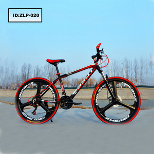 The New Chinese Supplier Factory Bike 26-Inch 21 Speed 3 Knives One Round Bikes Double Disc Brake Mountain Bicycle
