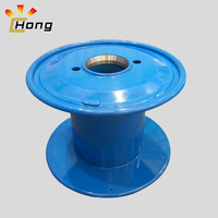 double layer metal cable drum for wire stranding