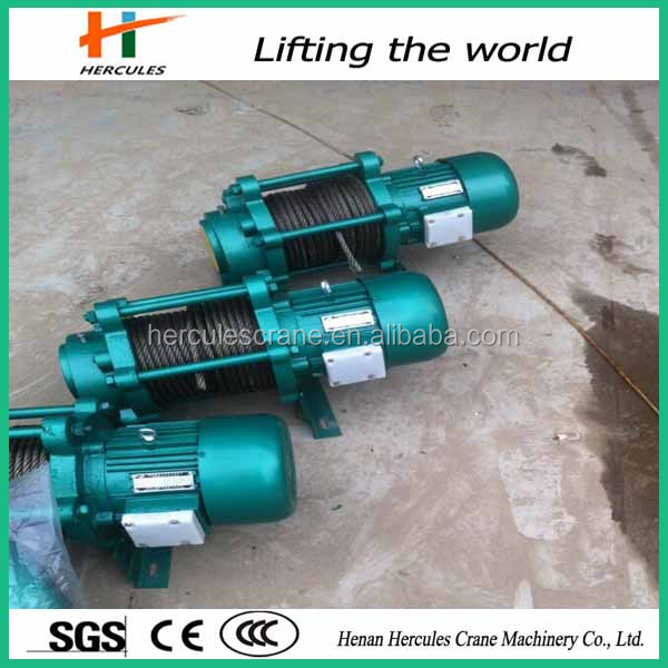 factory price winch electrical hoisting winch from Henen Hercules