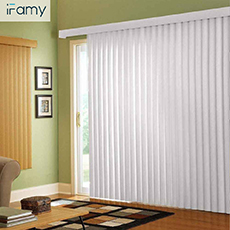 Waterproof pvc fabric for blinds window shades vertical slats