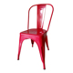 Wholesale stackable dining chair, restaurant chair steel iron metal chair, restaurant cafe chair