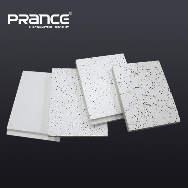 Professional Decorate Mineral Fiber / Wool Ceiling Board / Tile