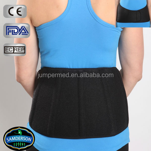 Neoprene orthopedic lumbar support / Low back pain