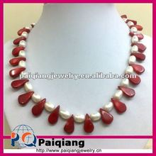 2012 Fashion Pearl & Shell Necklace