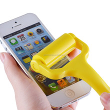 dust removal Silicone Sticky Roller Mobile phone display cleaner roller