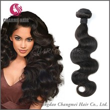 Wholesale 100 % Human Hair Natural Black Wet And Wavy Indian Remy Hair Weave