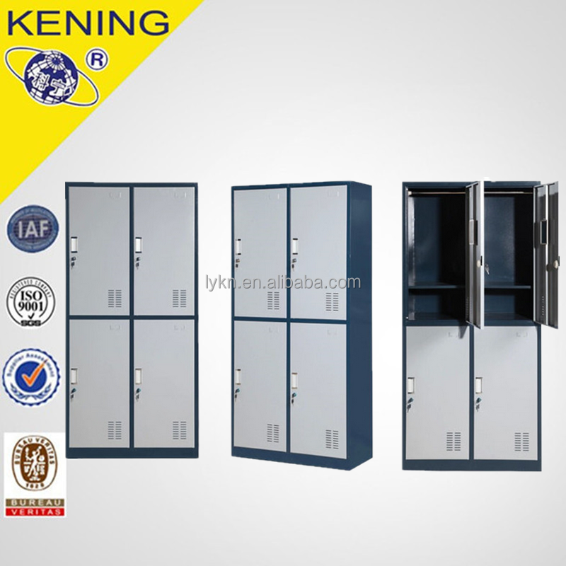 Hot Selling Modern 4 Door Cabinet / steel 4 door wardrobe on sale