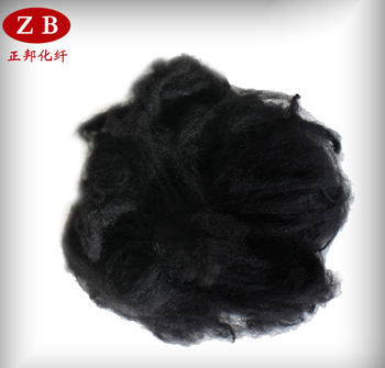 black Virgin polypropylene staple fiber/PP fiber
