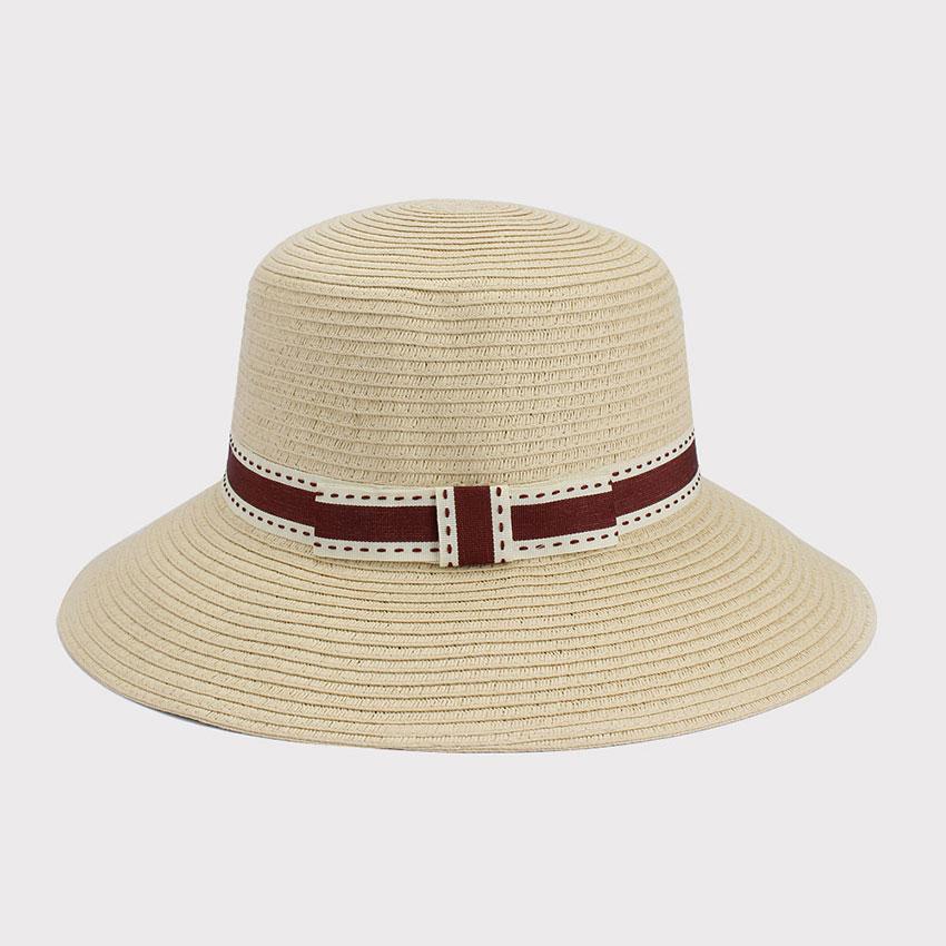 Senhoras Fashon Chapéu Cloche Chapéu de Palha Chapéu de Palha ...