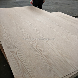 15mm thickness natural red oak veneered fancy plywood boards