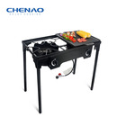 Hot sale in USA outdoor camping gas cooker BBQ grill with two burners