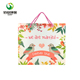 customised wedding valentine's day gift eco white paper bag with logo