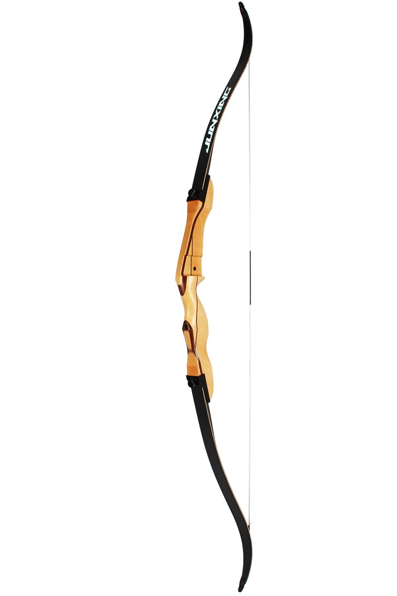 3940808d9a3f Junxing Archery New Wooden Take Down Recurve Bow F168c