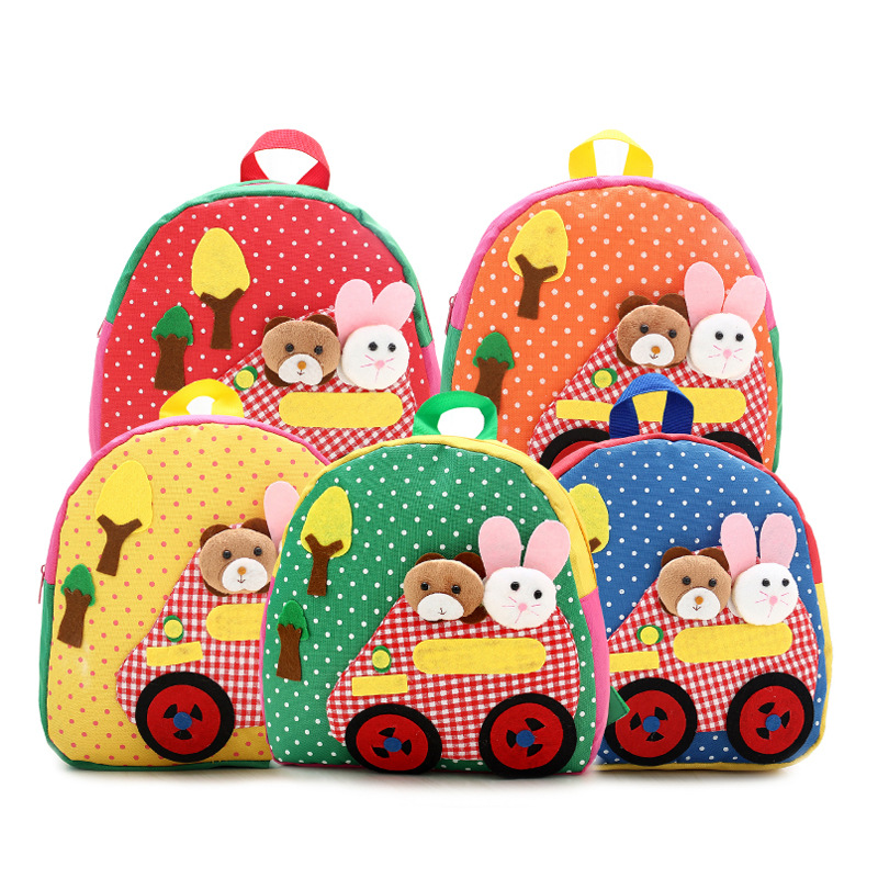 Bags Korean <strong>School</strong> For Sale Kids Zoo Animal Backpack Handmade Backpack