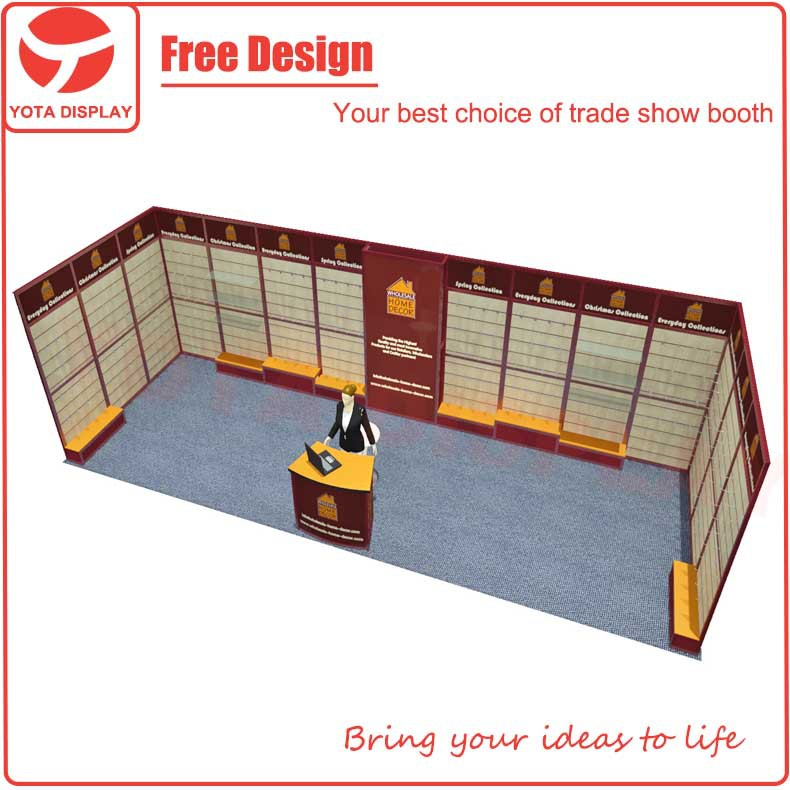 Yota 3x9 Slatwall Exhibition Booth Design For Home Decor Buy 3x9