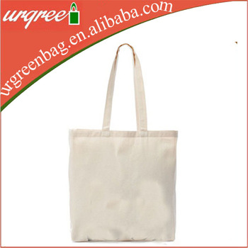 China Blank Plain Custom Printed Cotton Canvas Whole Tote Bags