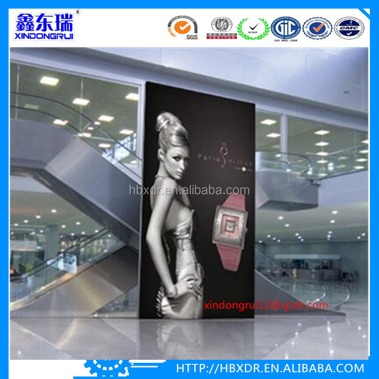 advertising fabric light boxes frame aluminum extrusion profile for led banner light boxes