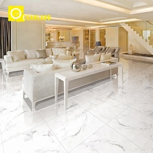 foshan polished porcelain ceramic floor bathroom wall tile